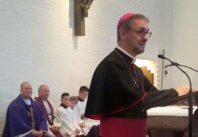 Abp Stefan w naszej Misji